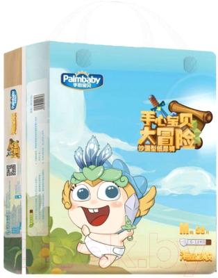 Фото - Подгузники детские Palmbaby Magic M 6-11кг / SK16-58M подгузники трусики для детей размер m 6 11кг подгузники трусики 58шт