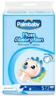 Подгузники детские Palmbaby S 4-8кг / XSK16-72S (72шт) -