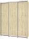 Шкаф Modern Роланд Р68 + Р18 (ирландский дуб) -