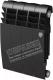 Радиатор биметаллический Royal Thermo Noir Sable 350 (8 секций) -