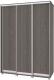 Шкаф Modern Роланд Р46 + Р16 (анкор темный) -