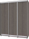Шкаф Modern Роланд Р68 + Р18 (анкор темный) -