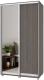 Шкаф Modern Роланд Р42 + Р22 (анкор темный) -