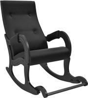 Кресло-качалка Импэкс 707 (венге/Vegas Lite Black) -
