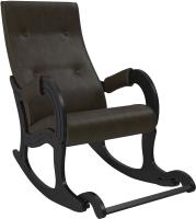 Кресло-качалка Импэкс 707 (венге/Vegas Lite Amber) -