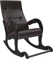 Кресло-качалка Импэкс 707 (венге/Oregon Perlamutr 120) -