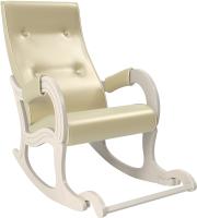 Кресло-качалка Импэкс 707 (дуб шампань/Oregon Perlamutr 106) -