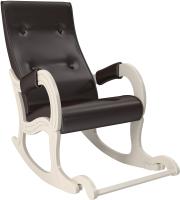 Кресло-качалка Импэкс 707 (дуб шампань/Oregon Perlamutr 120) -