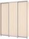 Шкаф Modern Роланд Р48 + Р18 (млечный дуб) -