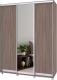 Шкаф Modern Роланд Р67 + Р27 (шимо темный) -