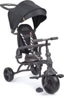 Детский велосипед с ручкой Happy Baby Mercury / 50015 (черный) -