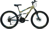 Велосипед Forward Altair MTB FS 24 Disc 2021 / RBKT1F14E002 (14.5, бежевый/черный) -