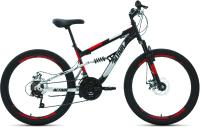Велосипед Forward Altair MTB FS 24 Disc 2021 / RBKT1F14E003 (14.5, черный/красный) -