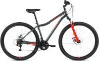 Велосипед Forward Altair MTB HT 29 2.0 Disc 2021 (17, серый/красный) -