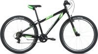 Велосипед Forward Toronto 26 1.2 2021 / RBKW1M367002 (13, черный/ярко-зеленый) -