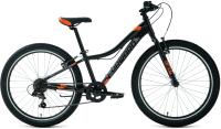 Велосипед Forward Twister 24 1.2 2021 / RBKW1J347022 (12, черный/оранжевый) -