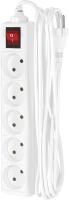 Удлинитель Фотон 10-55S  (5м, белый) -