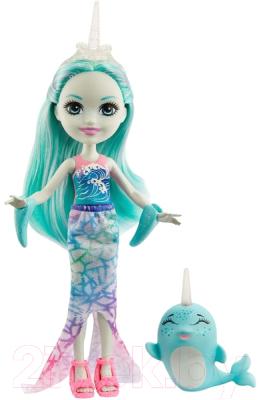 enchantimals кукла felicity fox Кукла с аксессуарами Mattel Enchantimals с питомцем / GJX41