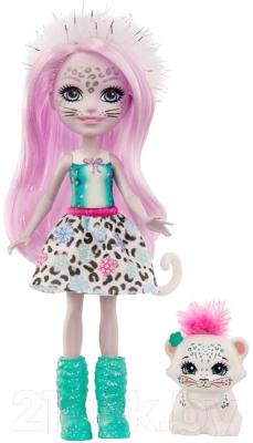 enchantimals кукла felicity fox Кукла с аксессуарами Mattel Enchantimals с питомцем / GJX42