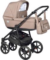 Детская универсальная коляска INDIGO Broco 2 в 1 (Br 01, коричневый) -