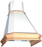 Вытяжка купольная Elikor Пергола 60П-650-П3Л (топленое молоко/дуб бежевый) -