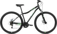Велосипед Forward Altair MTB HT 29 2.0 Disc 2021 / RBKT1MN9Q002 (17, черный/ярко-зеленый) -