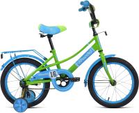 Детский велосипед Forward Azure 16 2021 / 1BKW1K1C1005 (зеленый/голубой) -