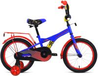Детский велосипед Forward Crocky 16 2021 / 1BKW1K1C1014 (синий/красный) -