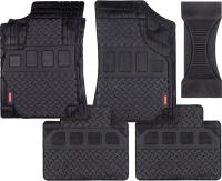Комплект ковриков для авто Autoprofi MAT710 BK (5шт) -