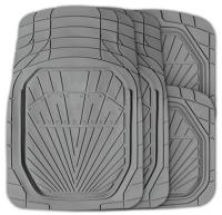 Комплект ковриков для авто Autoprofi MAT-510 GY (4шт) -