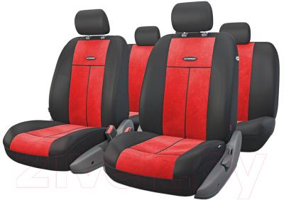 Чехол для сиденья Autoprofi TT-902V BK/RD