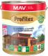 Защитно-декоративный состав MAV Profitex (3л, красное дерево) -