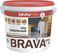 Лак MAV Brava ВД-АК-2041 мебельный (1л) -
