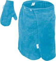 Набор текстиля для бани Банные Штучки 33511 (голубой) -