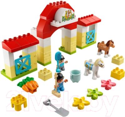 Конструктор Lego Duplo Конюшня для лошади и пони / 10951