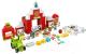 Конструктор Lego Duplo Фермерский трактор, домик и животные / 10952 -
