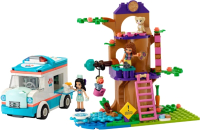 Конструктор Lego Friends Машина скорой ветеринарной помощи / 41445 -