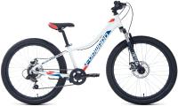 Велосипед Forward Twister 24 2.2 2021 / RBKW1J347028 (12, белый/красный) -