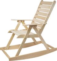 Кресло-качалка для бани Парилочка 1600x600x1400 -