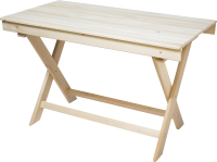 Стол для бани Парилочка Раскладной 1200x760x600 -