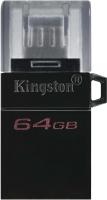 Usb flash накопитель Kingston DT MicroDuo 3 Gen2 + microUSB 64GB (DTDUO3G2/64GB) -