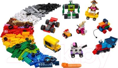 Конструктор Lego Classic Кубики и колеса / 11014