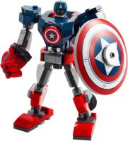 Конструктор Lego Super Heroes Капитан Америка: Робот / 76168 -