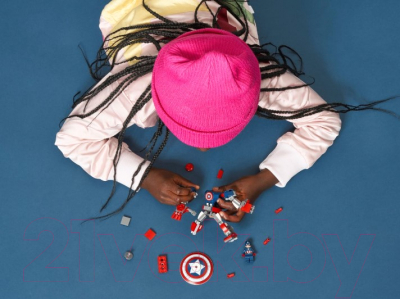 Конструктор Lego Super Heroes Капитан Америка: Робот / 76168