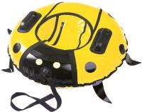 Тюбинг-ватрушка Saima Sport LadyBug 1000мм (желтый) -