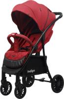 Детская прогулочная коляска INDIGO Quant (красный) -
