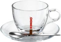 Чашка с блюдцем Kimbo 900473 -
