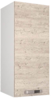 Шкаф навесной для кухни Anrex Alesia 1D/30-F1 (серый/сосна винтаж) -