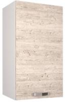 Шкаф навесной для кухни Anrex Alesia 1D/40-F1 (серый/сосна винтаж) -