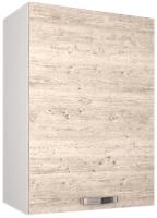 Шкаф навесной для кухни Anrex Alesia 1D/50-F1 (серый/сосна винтаж) -
